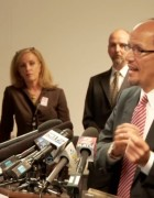 Image, AAG Perez announces findings Portland Police act illegally
